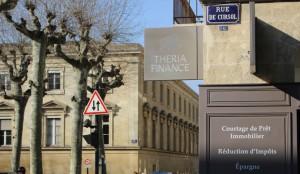 Agence Théria Finance rue de Cursol Bordeaux