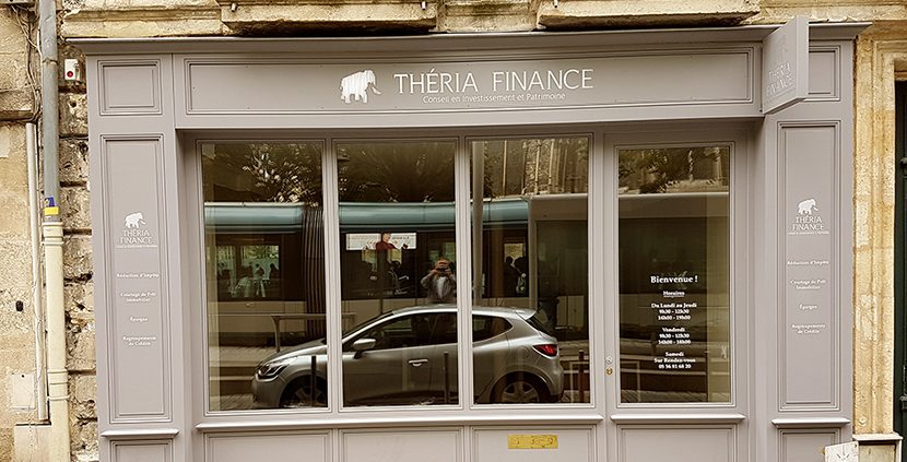 Agence Théria Finance place Pey Berland