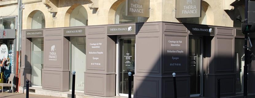 Agence Théria Finance Place de la République, Bordeaux