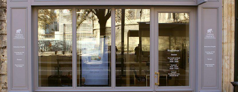 Agence Théria Finance place pey Berland Bordeaux - conseil en gestion de patrimoine